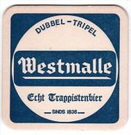 Belgique Westmalle Dim 9.4 X 9.4 - Sous-bocks
