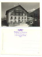 GRINZENS GASTHOF FRANZ OBERDANNER (RR) - Österreich