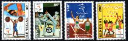 Sénégal 2000 Jeux Olympiques Olympic Games Olympia SYDNEY Taekwondo Handball Sports Haltérophilie 4 Val. RARE MNH