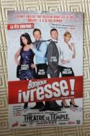 Theatre Le Temple - Pièce : BONJOUR IVRESSE - Theatre