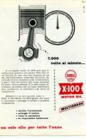 # ROYAL DUTCH SHELL OIL 1950s Car Italy Advert Pub Pubblicità Reklame Huile Olio Aceite Ol - Vervoer