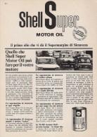 # ROYAL DUTCH SHELL OIL 1950s Car Italy Advert Pub Pubblicità Reklame Huile Olio Aceite Ol Alfa Romeo Giulietta Fiat 500 - Vervoer