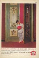 # EXXON MOBIL ESSO DOMESTIC DIESEL OIL 1950s Car Italy Advert Pub Pubblicità Reklame Huile Olio Aceite Ol - Vervoer