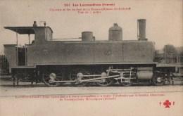 CPA Locomotive éditions Fleury - Locomotive-tender (type 1900-1902) - Très Beau Plan - Matériel
