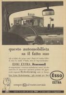# EXXON MOBIL ESSO FUEL 1950s Car Petrol Italy Advert Pub Reklame Essence Benzina Benzin Gasoline - Vervoer