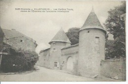 3469 - VILLEFAGNAN - LES VIELLES TOURS, RESTES DE L'ENCEINTE DE L'ANCIENNE VILLEFAGNAN - Villefagnan