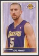 BASKETBALL - PANINI NBA STICKER COLLECTION - STEVE BLAKE - LOS ANGELES LAKERS - Altri