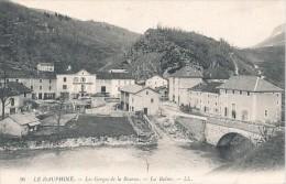 LA BALME (38) LES GORGES DE LA BOURNE - La Balme-les-Grottes