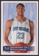 BASKETBALL - PANINI NBA STICKER COLLECTION - ANTHONY DAVIS - NEW ORLEANS - Altri