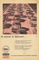 # ROYAL DUTCH SHELL FUEL 1950s Car Petrol Italy Advert Pub Pubblicità Reklame Essence Benzina Benzin Gasoline - Vervoer