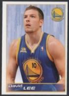 BASKETBALL - PANINI NBA STICKER COLLECTION - DAVID LEE - GOLDEN STATE WARRIORS - Sport
