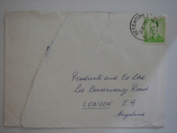 Belgium 1971 Commercial Cover Rekem To UK - Covers & Documents