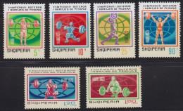 Albania 1973 Weightlifting World Championships, MNH (**) - Albanie