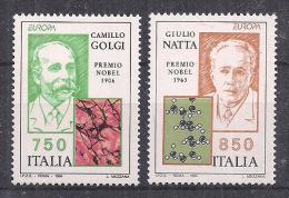 ITALIA 1994  EUROPA SASS. 2106-2107 MNH XF - 6. 1946-.. Repubblica