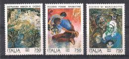 ITALIA 1994  2° GUERRA MONDIALE  SASS. 2111-2113 MNH XF - 6. 1946-.. Repubblica