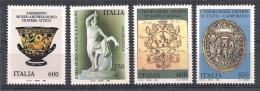 ITALIA 1994  PATRIMONIO ARTISTICO SASS. 2118-2121 MNH XF - 6. 1946-.. Repubblica