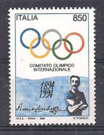 ITALIA 1994  COMITATO OLIMPICO SASS. 2122 MNH XF - 6. 1946-.. Repubblica