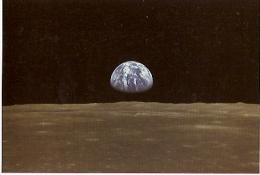 NASA APOLLO 11 EARTH RISE. ORIGINAL- AUTHENTIQUE. UNCIRCULATED. GECKO. - Sterrenkunde