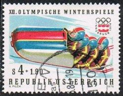 Austria SG1731 1975 Winter Olympics (1st Series) 4s.50+1.90g Good/fine Used - 1945-.... 2nd Republic