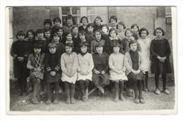 GROUPE  D´ ECOLIERS  ( école Primaire De SUCY-en-BRIE , VAL DE MARNE  ?  ?  ? ) / CARTE-PHOTO , Tirage Argentique - Schools