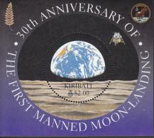 KIRIBATI, 1999 MOONLANDING ANNIV MINISHEET MNH - Kiribati (1979-...)
