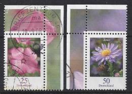 Germany 2005  Blumen  (o)  Mi.2462-2463 - [7] Federal Republic