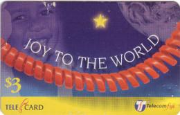 ***Télécarte Prépayée Fidji $3 Utilisée **état Courant   A Saisir *** N° Lot :99087004850 - Fidji