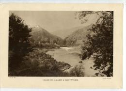 Héliogravure Années 1930 Vallée De L'Allier à Saint-Yvoine - Reproductions
