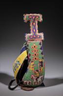 Art Africain Couteau De Cérémonbie Yoruba - Armes Blanches