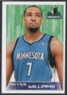 BASKETBALL - PANINI NBA STICKER COLLECTION - DERRICK WILLIAMS - MINNESOTA TIMBERWOLVES - Sport