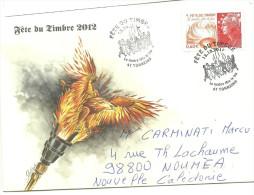 Fete Du Timbre   + Carte Postale                  (clasbla) - France