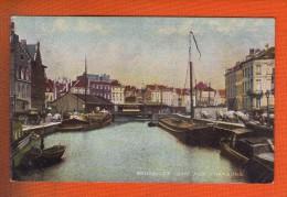 1 Cpa Bruxelles Quai Aux Charbons - Transport (sea) - Harbour