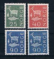 Norwegen 1962 Mi.Nr. 482/84 Kpl. Satz ** - Norvège
