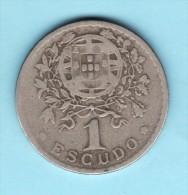 PORTUGAL - 1  Escudos De 1931 -  TBE - Prix Fixe - Portugal