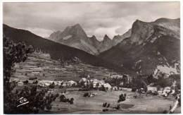 Lus La Croix Haute - Vue Panoramique - Crête Des Aiguilles Et Chamousset - France