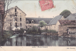 23602 LARDY Moulin Richard  - Ed Cheramy - Colorisée - Lardy