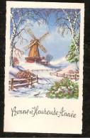 Mignonnette   Bonneet Heureuse Année Moulin - Anno Nuovo