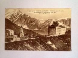 COL PETIT SAN BERNARD HOTEL DE LANCEBRANLETTE 1933 VIAGGIATA S - Italia