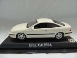 X OPEL CALIBRA DEL PRADO CAR COLLECTIONS 1/43 BASETTA DEDICATA NO BOX - Automobili
