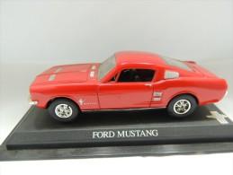 X FORD MUSTANG DEL PRADO CAR COLLECTIONS 1/43 BASETTA DEDICATA NO BOX - Automobili