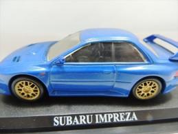 X SUBARU IMPREZA  DEL PRADO CAR COLLECTIONS 1/43 BASETTA DEDICATA NO BOX - Automobili