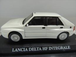 X LANCIA DELTA HF INTEGRALE  DEL PRADO CAR COLLECTIONS 1/43 BASETTA DEDICATA NO BOX - Automobili