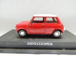 X MINI COOPER   DEL PRADO CAR COLLECTIONS 1/43 BASETTA DEDICATA NO BOX - Automobili