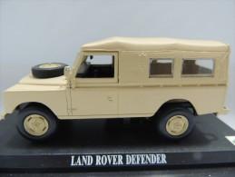 X LAND ROVER DEFENDER  DEL PRADO CAR COLLECTIONS 1/43 BASETTA DEDICATA NO BOX - Automobili