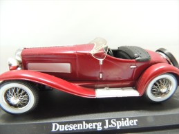 X DUESENBERG J. SPIDER  DEL PRADO CAR COLLECTIONS 1/43 BASETTA DEDICATA NO BOX - Automobili