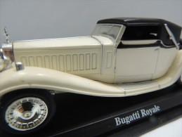 X BUGATTI ROYALE. SPIDER  DEL PRADO CAR COLLECTIONS 1/43 BASETTA DEDICATA NO BOX - Automobili
