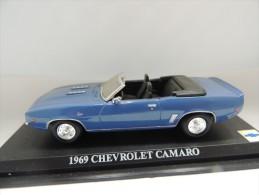 CHEVROLET CAMARO 1969  DEL PRADO CAR COLLECTIONS 1/43 BASETTA DEDICATA NO BOX - Automobili
