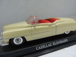 CADILLAC ELDORADO  DEL PRADO CAR COLLECTIONS 1/43 BASETTA DEDICATA NO BOX - Automobili