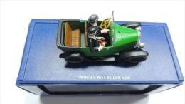 TINTIN CAR VOITURE REF ATLAS 17 BLACK GOLD PAYS OR NOIR CITROEN 5 BOX SEE PHOTO - Automobili