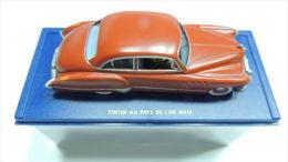 TINTIN CAR VOITURE REF ATLAS 10 BLACK GOLD PAYS OR NOIR BUICK NO BOX SEE PHOTO - Automobili